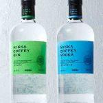 Gin et Vodka Coffey chez Nikka