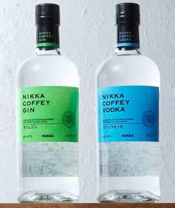 Le Gin et la Vodka Coffey chez Nikka