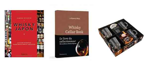 WhiskyJapon, Whisky Cellar Book et coffret Irish Coffee