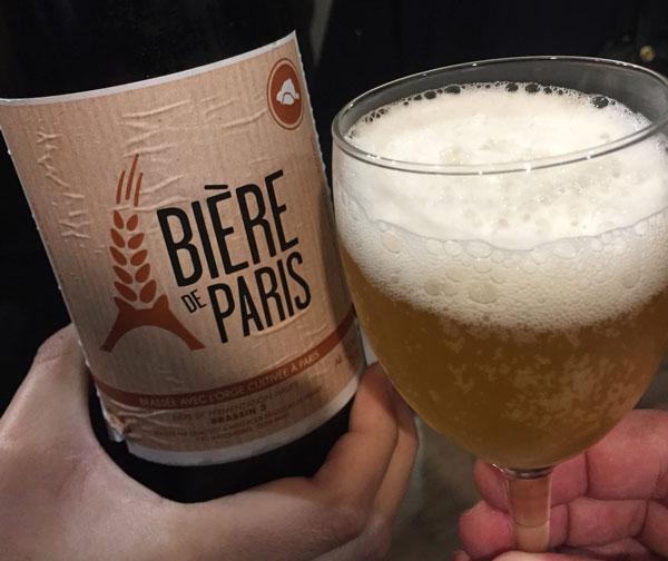 L'un des trois brassins de la Bière de Paris 2018