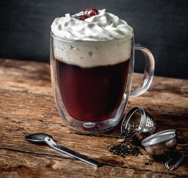 Forêt Noire, cocktail à la Fleur de Bière par Stephen Martin
