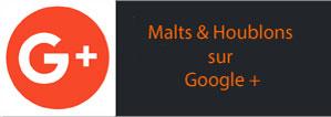 Suivez Malts & Houblons sur Google+