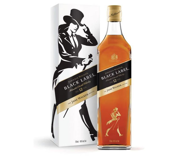 Jane Walker scotch whisky