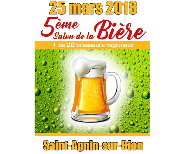 Salon de la bière de Saint-Agnin-sur-Bion