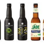 Nouveaux formats et nouvelles références pour les bières Castelain et Jade