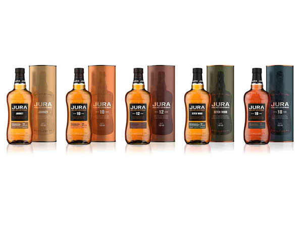 Nouvelle gamme whisky Jura