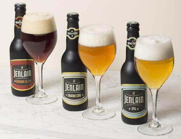 Les nouvelles bières de dégustation Jenlain