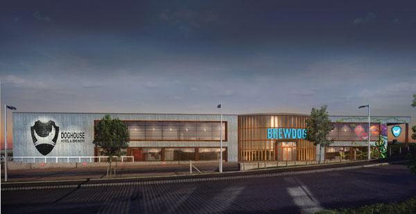 The DogHouse, le futur BrewDog hôtel à Ellon