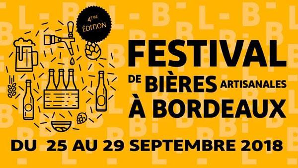 Le Festival des bières artisanales de Bordeaux, 4e édition à la rentrée