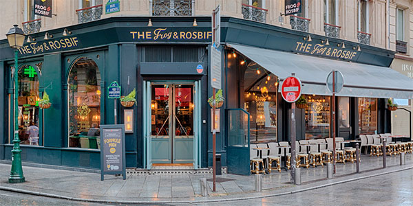 The Frog & Rosbif à Paris