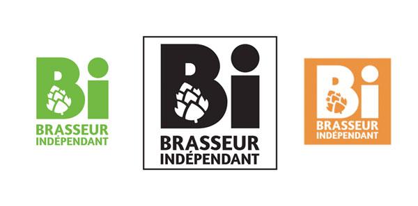 Les déclinaisons du logo Brasseur Independant
