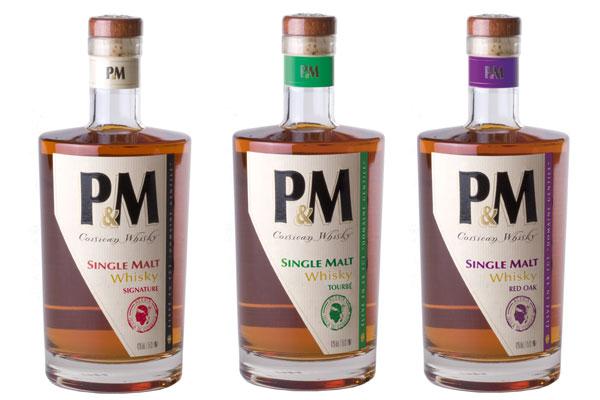 Nouveaux whiskies P&M