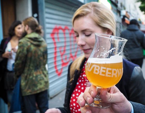 Moment de la Paris Beer Week ©Clement Leriche