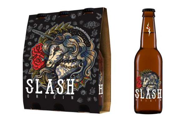 Le pack de Slash Origin et la bouteille