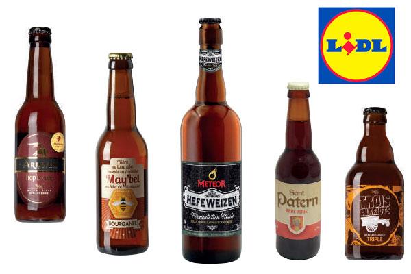 Quelques références de la 2e Foire à la bière de Lidl