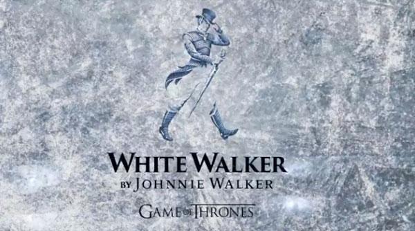Johnnie Walker annonce un futur White Walker Game of Thrones !