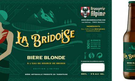 La Bridoise, la bière identitaire de l'Office de Tourisme de Brides-les-Bains