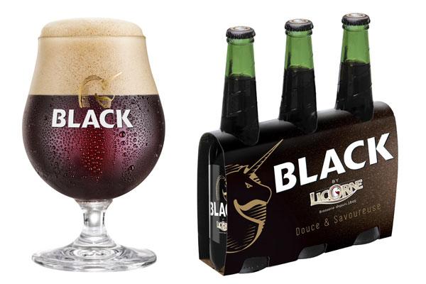 Verre et pack Black byLicorne