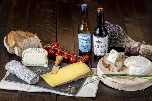 La Box fromage et bière de La Boite du Fromager