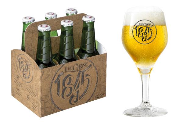 Licorne lance sa 1845, relooke et rebaptise sa bière noire