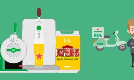 Heineken et Kol mettent la pression chez les Parisiens pour l'été