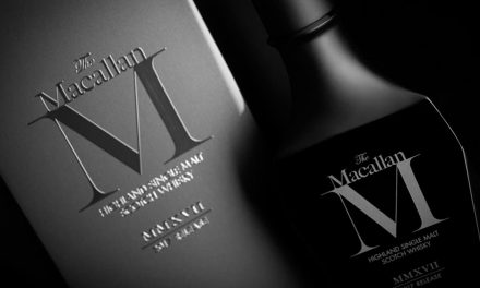 The Macallan M Black 2017, cristal noir et tourbe