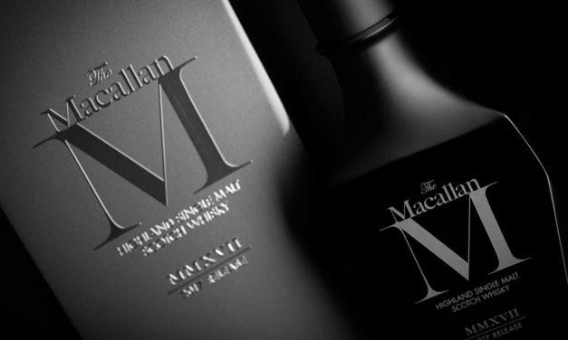 The Macallan M Black 2017, cristal noir et tourbe