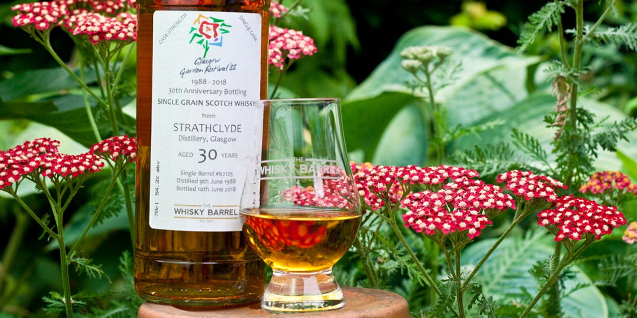 Strathclyde 30 ans, single grain en exclusivité chez The Whisky Barrel