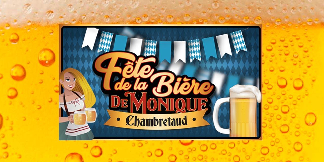 La Fête de la Bière de Monique avec Mélusine et à Chambretaud…