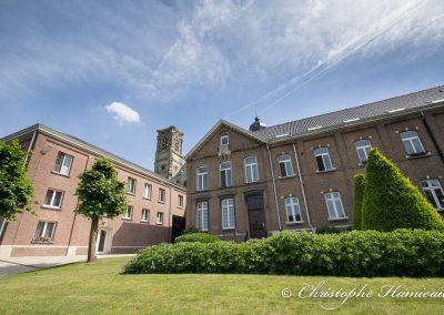 Dans les jardins de l'Abbaye de Grimbergen