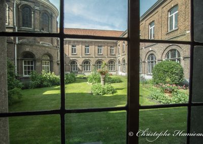 Le jardin de l'Abbaye de Grimbergen