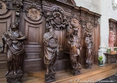 Dans l'Abbaye de Grimbergen