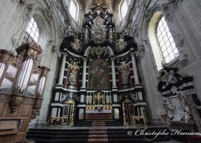 L'autel de l'Abbaye de Grimbergen