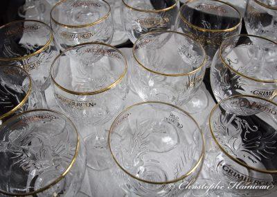 Le nouveau verre calice de Grimbergen