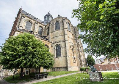 Abbaye de Grimbergen, facade Est