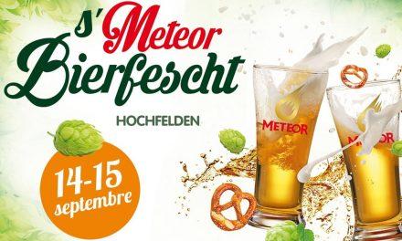 Ne manquez pas la 3eme s'Meteor Bierfescht les 14 et 15 septembre prochain