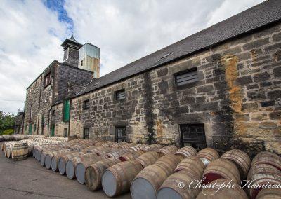 The BenRiach Distillery. Les origines des fûts identifiables par leur couleur
