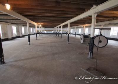The BenRiach Distillery. La superbe aire de maltage