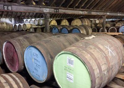The BenRiach Distillery, une collection de fûts hétéroclites