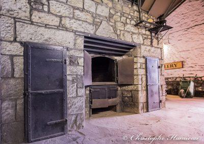 The BenRiach Distillery. Le Kiln, four à malt