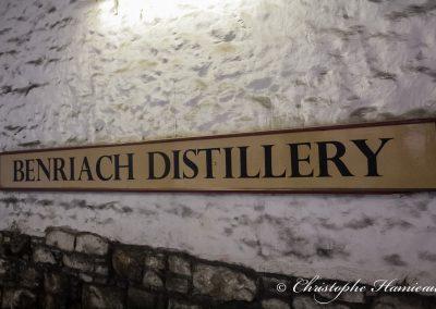 The BenRiach Distillery. Nous sommes bien chez BenRiach