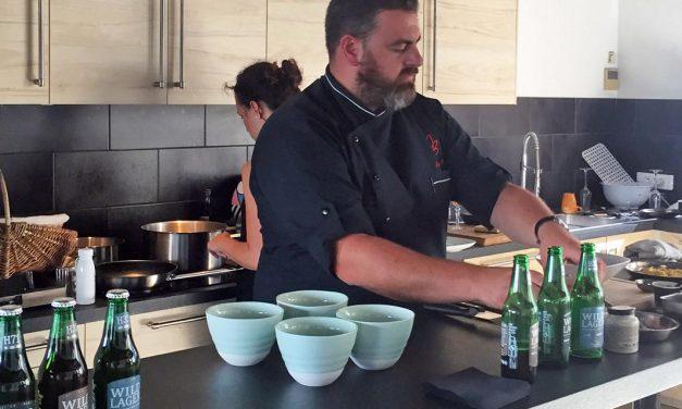 Les Wild Lagers Heineken en accord avec des recettes de Jonathan Blot