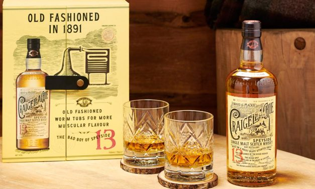 Le Craigellachie 13 ans en coffret Old Fashioned