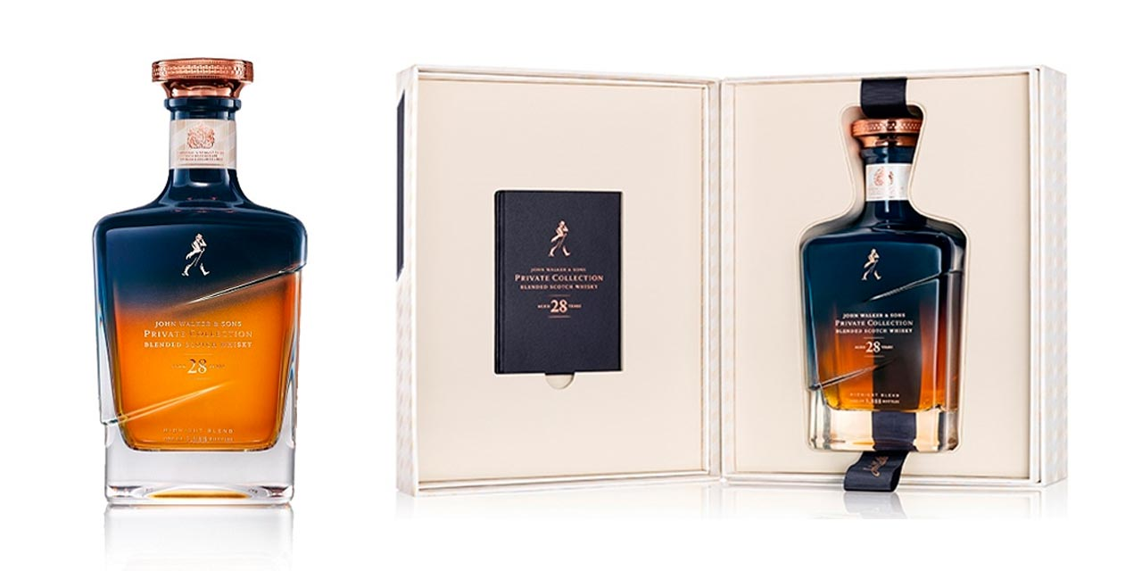 Le 28 Year Old Midnight Blend dans la Private Collection de John Walker & Sons