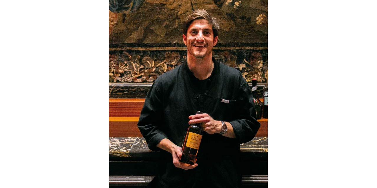 Guillaume Quenza vainqueur du Nikka Perfect Serve 2018