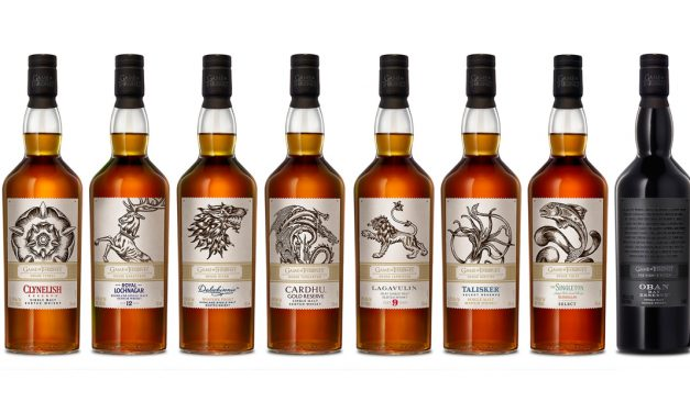 La collection de Single Malts Game of Thrones de Diageo est arrivée !