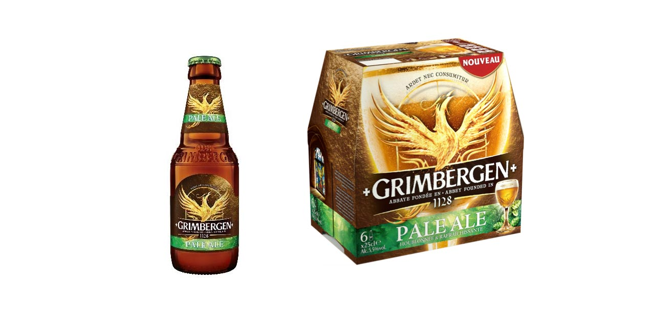 Brasseries Kronenbourg lancent la Grimbergen Pale-Ale !
