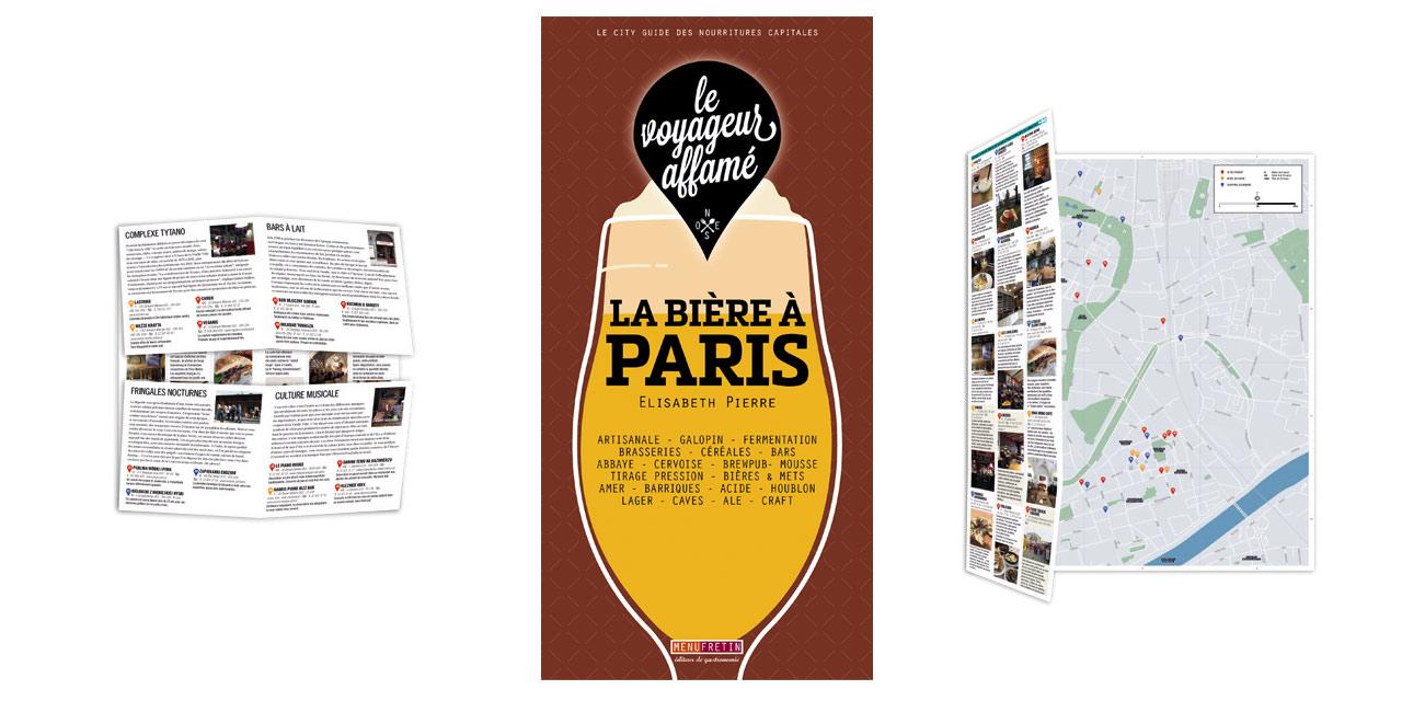 La Bière à Paris dans un city guide bien pratique