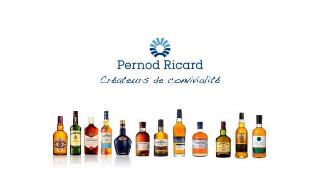 Chez Pernod-Ricard les marques de whisky se portent bien !