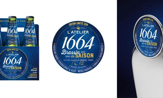 L'Atelier 1664 Brassin de Saison chez Monoprix et dans les bars